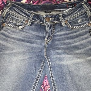 Silver Brand Blue Jeans!